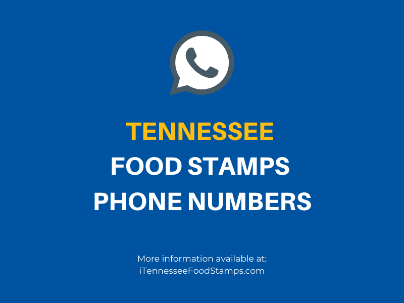 Tennessee Food Stamps Phone Numbers